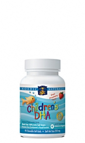 Children 39 s dha fish oil 180 chewable softgels for Chewable fish oil